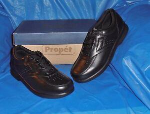 Propet-M3910-Mens-Black-Lite-Comfort-Walking-Shoe-size-8-1-2-M-FREE-SHIP