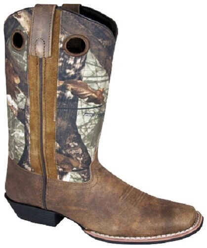 nuevo  Damas Smoky Mountain botas-Western Cowboy -12  Camo Marrón