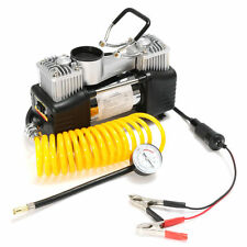 New Compressor Car Tyre Inflator Portable Kit12V 150PSI Double Cylinder Air Pump