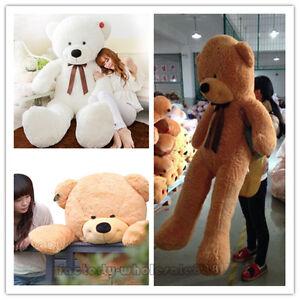 Giant Huge big teddy bear stuffed animals plush soft toys doll pillow Xmas gifts