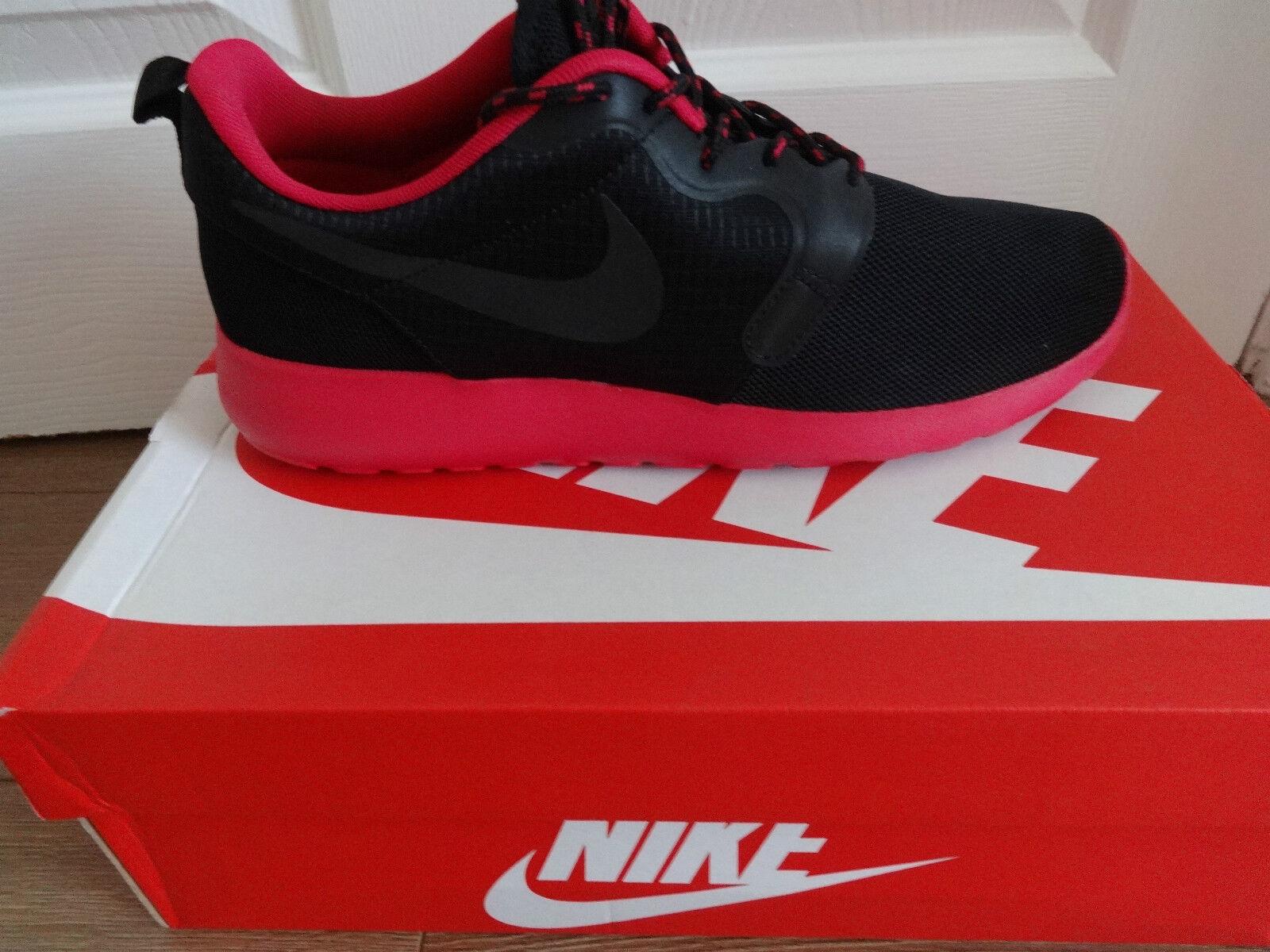 Nike Rosherun HYP trainers baskets 642233 601 noir uk 7.5 eu 42 us 10 new+box.