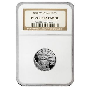 2006-W-1-4-oz-25-Platinum-American-Eagle-Proof-Coin-NGC-PF-69-UCAM