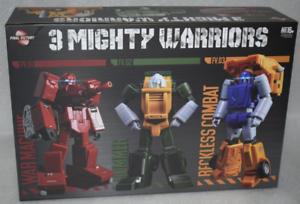 Transformers FinalVictory FV Three warriors Wardog Action Figure In Stock!