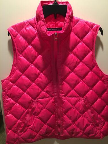 Ralph Sport Lauren Xl Vest Winter Pink qq4rWTU