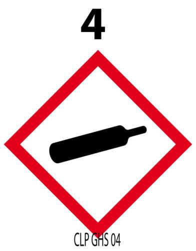 100 autocollants OBLIGATOIRES pour produits dangereux 1cm² CLPGHS 01