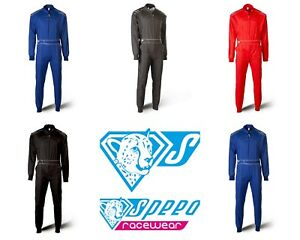 SPEED-Daytona-HS-1-Kartoverall-Kartanzug-Overall-Karting-Suit-Groessen-110-4XL