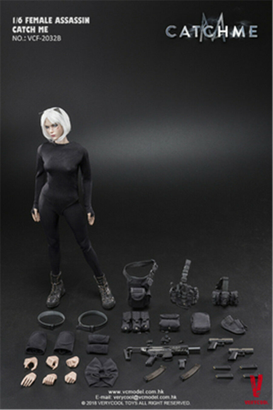 VERYCOOL VCF-2033 VCF-2033 VCF-2033 1/6 Female Assassin Series First Bomb Catch Me HOT FIGURE TOYS cd8323