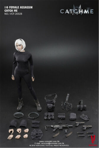 Hot 1//6 VERYCOOL VCF-2033A/&B Female Assassin Series Catch Me Action Figure Toys