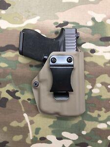 Crye Multicam Kydex IWB for Glock 43 Threaded Barrel Streamlight TLR-6 Holster