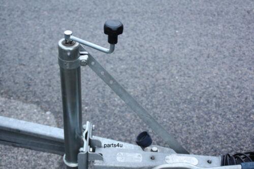 Stützradstrebe Stabilisator Deichsel Stütze für 60mm Stützrad Schwerlaststützrad