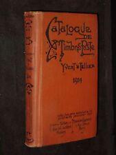 Catalogue Prix-Courant de Timbres-Poste 1914
