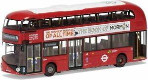 Corgi-Bus-OM46613-Routemaster-New-Bus-London-60-Jahre-Corgi-Sondermodell-1-76