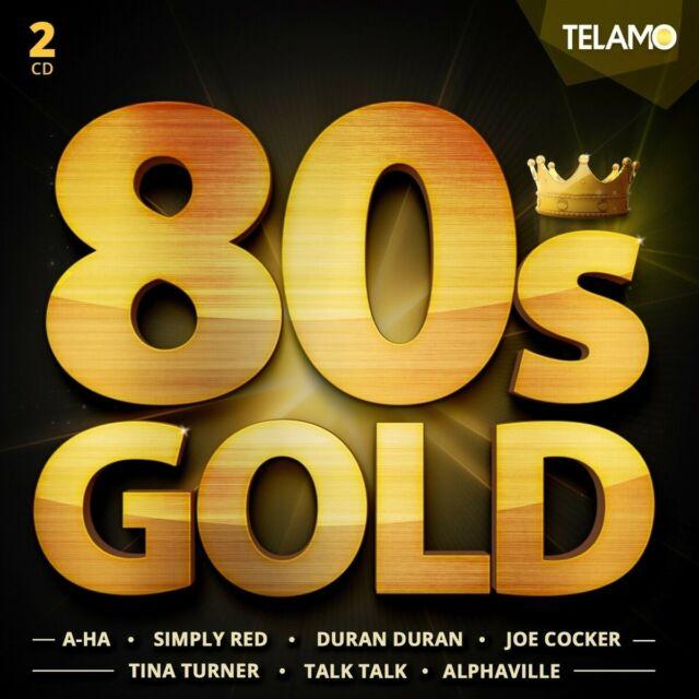 80'S GOLD (TINA TURNER, ROXETTE, JOE COCKER, A-HA, DURAN DURAN, ...)  2 CD NEW!