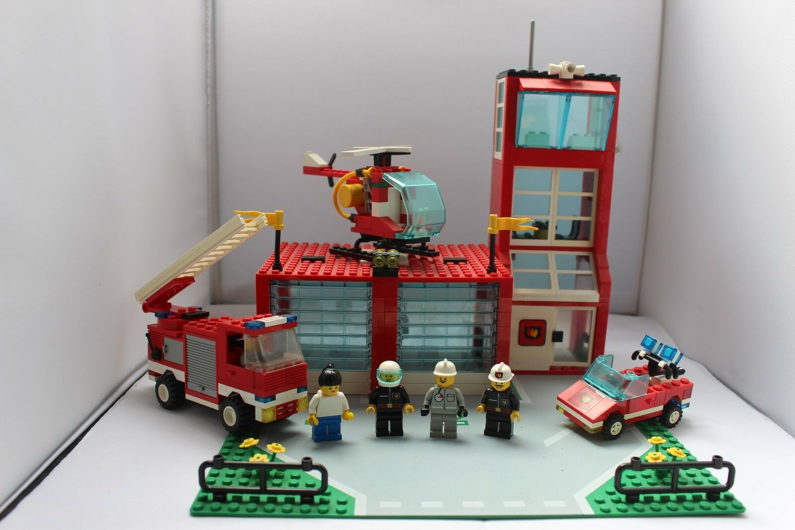 LEGO System 6571 Flame Fighter Fire Station Bauanleitung  Verpackung OVP