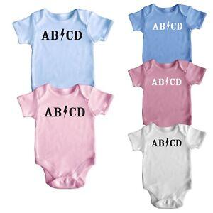 9f7b600b1 Short Sleeve Baby Boy Girl Bodysuit Rompers Baby Grows 9 Designs ...