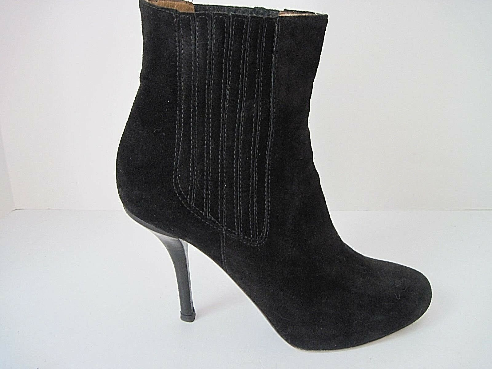 VINCE Women's Black Suede High Heel Ankle Booties Size 9.5 9.5 9.5 M   EU 41 ddcffb
