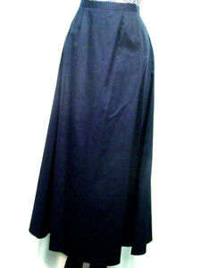 Ladies walking skirt Victorian Old West style  Navy Blue Sizes XSmall to XXLarge