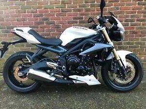 2015 - Triumph Street Triple 675cc ABS Naked **FREE ULEZ**