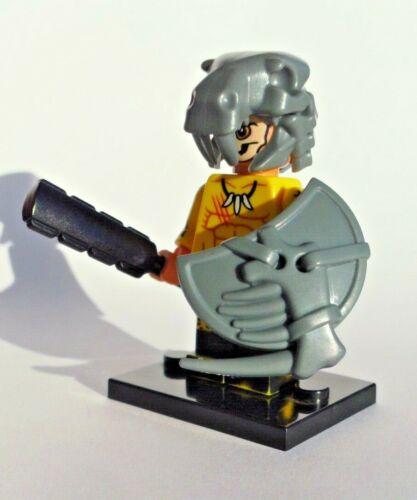 LEGO Aztec jaguar warrior INDIAN w custom shield helmet /& off brand parts read!!