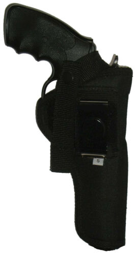 USA Pistol Holster Ruger FlatTop 4 5//8 in barrel Revolver 357 9mm flat top