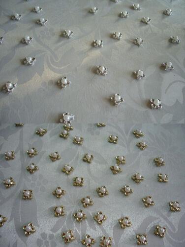 30 Streudeko gold Strass Tischdeko Dekoration Konfirmation Kommunion Taufe