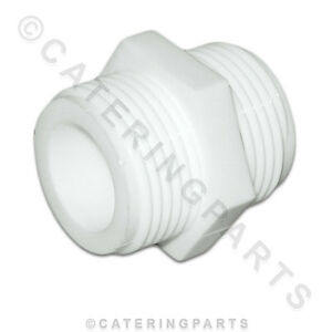WASHING-MACHINE-HOSE-EXTENDER-PIPE-EXTENSION-FITTING-3-4-BSP-PLASTIC-CONNECTOR