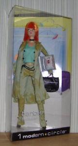 1 Cercle moderne Producteur de carrière pour Barbie Collector Ed Orange Hair / joint_b2523_nrfb