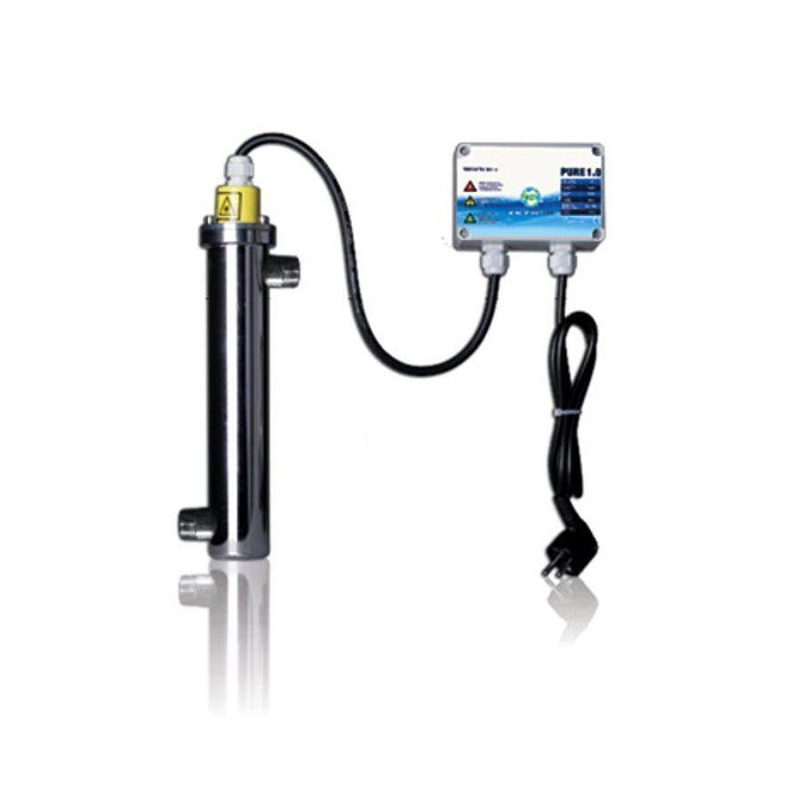 Pure 1.0 - 16w-UVC impianto per il trattamento delle acque-PISCINA ACQUA POTABILE dello Stagno UV-C