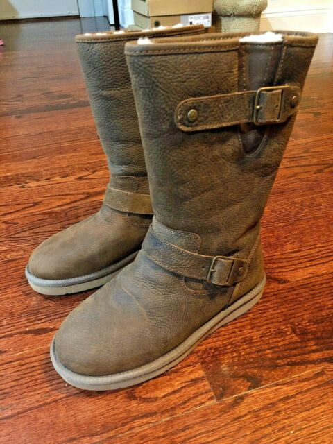 112eca80b46 NEW UGG Australia Women's Sutter Boots 1005374 Toast Leather Size 6