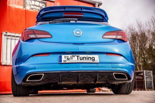 Sonderaktion Heckansatz Diffusor Performance aus ABS für Opel Astra J OPC