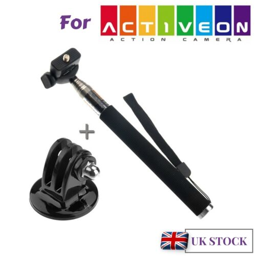 Metal Monopod for Action Cam Activeon Solar XG Activeon CX Activeon CX Gold plus