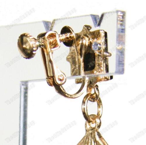Egipcio Revival Art Deco Oro Moda pendientes de estilo vintage Araña Spike