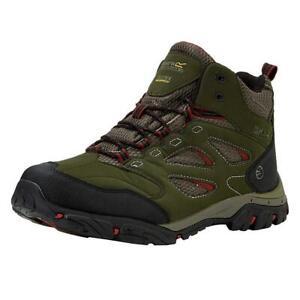 Regatta-Holcombe-IEP-Mid-Hombre-Caminar-Zapato-bota-para-excursionismo-a-prueba-de-agua-al-aire