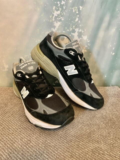 New Balance Made In USA WR993BK Running Shoes Black/ Silver Womens SZ 9 B