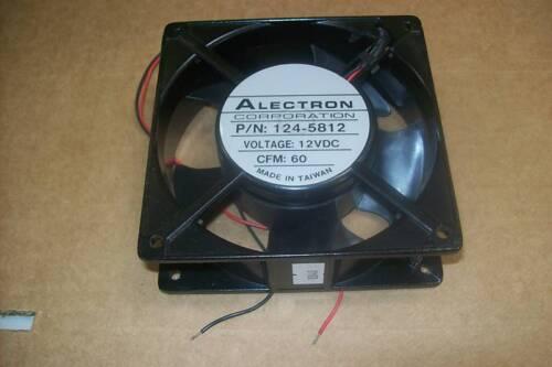 Alectron 124-5812 Axial Fan 12 VDC 119mm Sq x 39mm