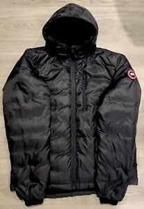 Canada-Goose-Mens-Lodge-Hoody-Large-Graphite