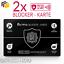 2x-RFID-Blocker-Karte-NFC-Schutzkarte-EC-Karten-Schutz-kreditkarten-Card-Signal Indexbild 1