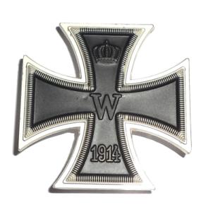 Orden-WK1-Eisernes-Kreuz-1-Klasse-1914-mit-Nadel-EK1-TOP-Sammler-Anfertigung