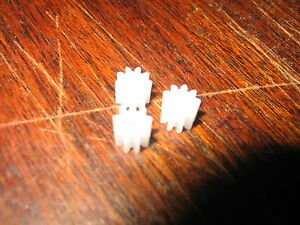 Rationnel 3 Blanc Pignon Spur Gears - 11 Dents Scalextric Sidewinder Et Autres Slot Cars-afficher Le Titre D'origine