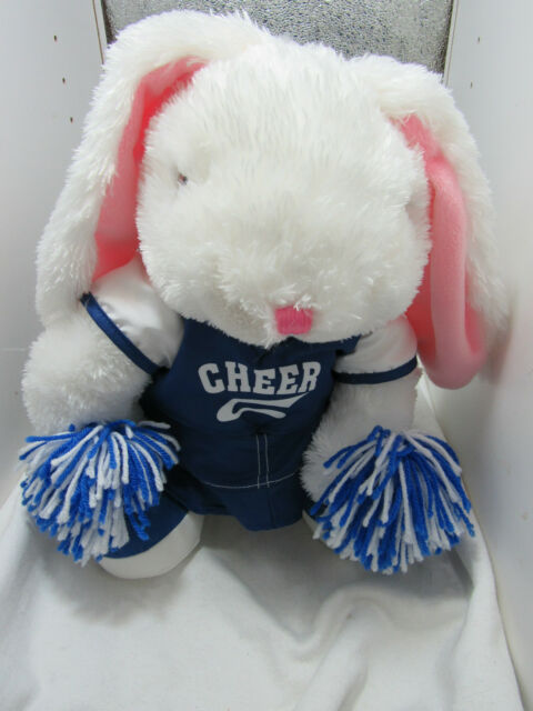 Dan Dee Cheerleader Bunny Rabbit Plush 15