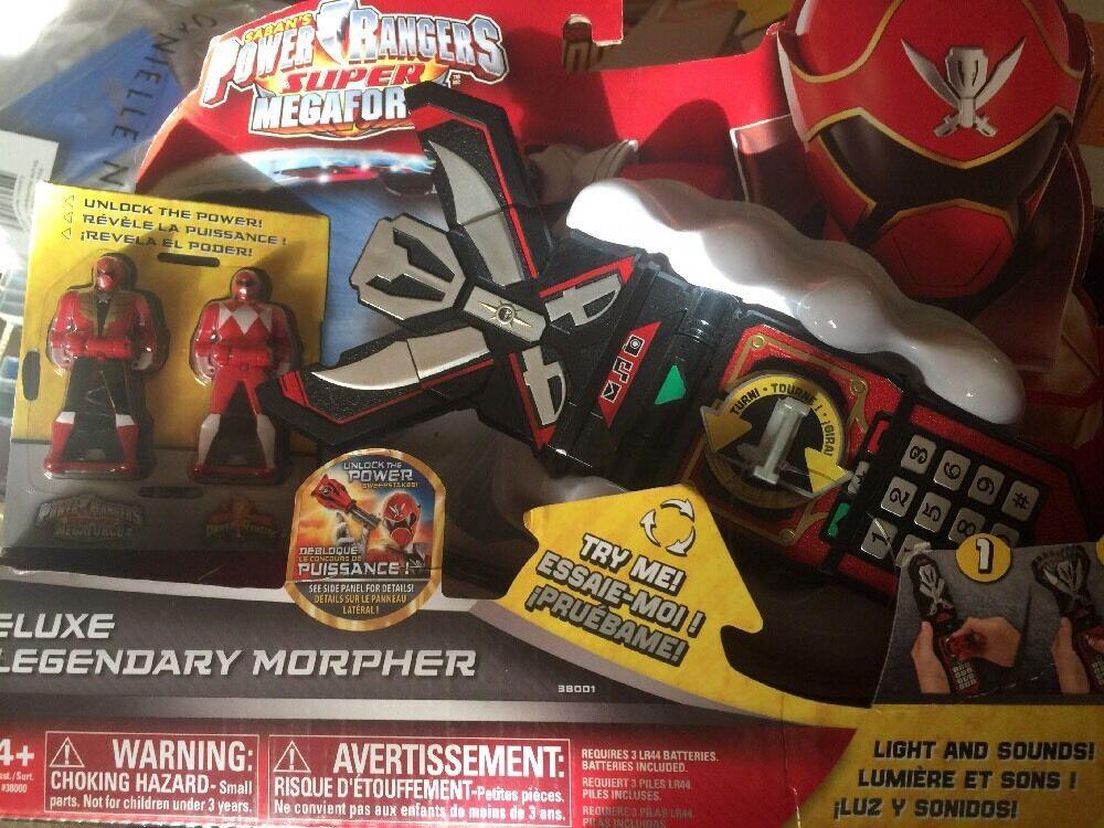 Power Rangers Super Megaforce Legendary Morpher Lights Sounds RARE
