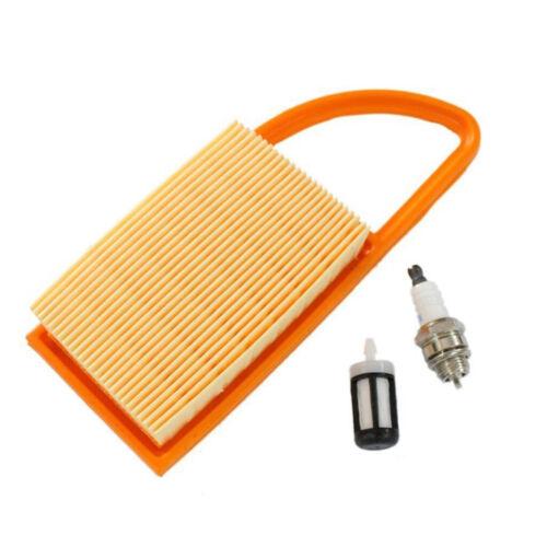 /& Kraftstofffilter mit Zündkerze für Stihl BR500 Luft BR600 Gebläse BR550