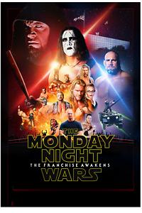 Wrestling Monday Night Wars Star Wars Style Retro Print 8x10 Sting Undertaker