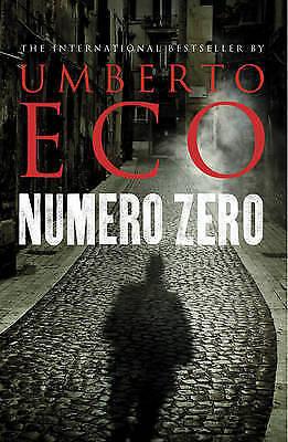 1 of 1 - Numero Zero by Umberto Eco ...VGC