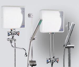 Klein-Durchlauferhitzer-EPJ-P-Primus-offen-drucklos-Dusche-und-Waschbecken