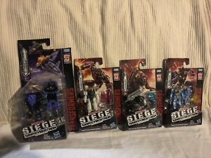transformers siege war for cybertron lot of 4 brand new read description