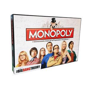 Monopoly Edición The Big Bang Theory - Juego de Mesa - Versión en Español