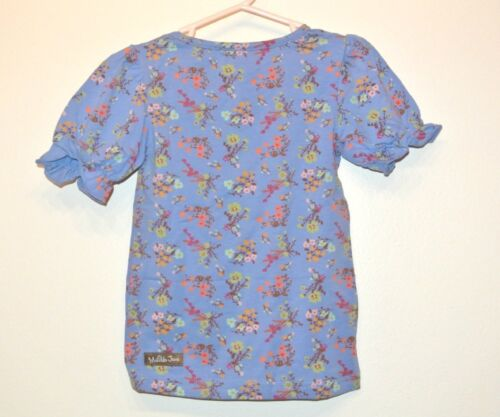 Matilda Jane Secret Fields Peony Tee Shirt Size 2 2T TOP NEW