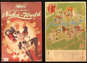 Fallout 4 nuka cola 2 sided promo poster bannerreverse side map image is loading fallout 4 nuka cola 2 sided promo poster gumiabroncs Images