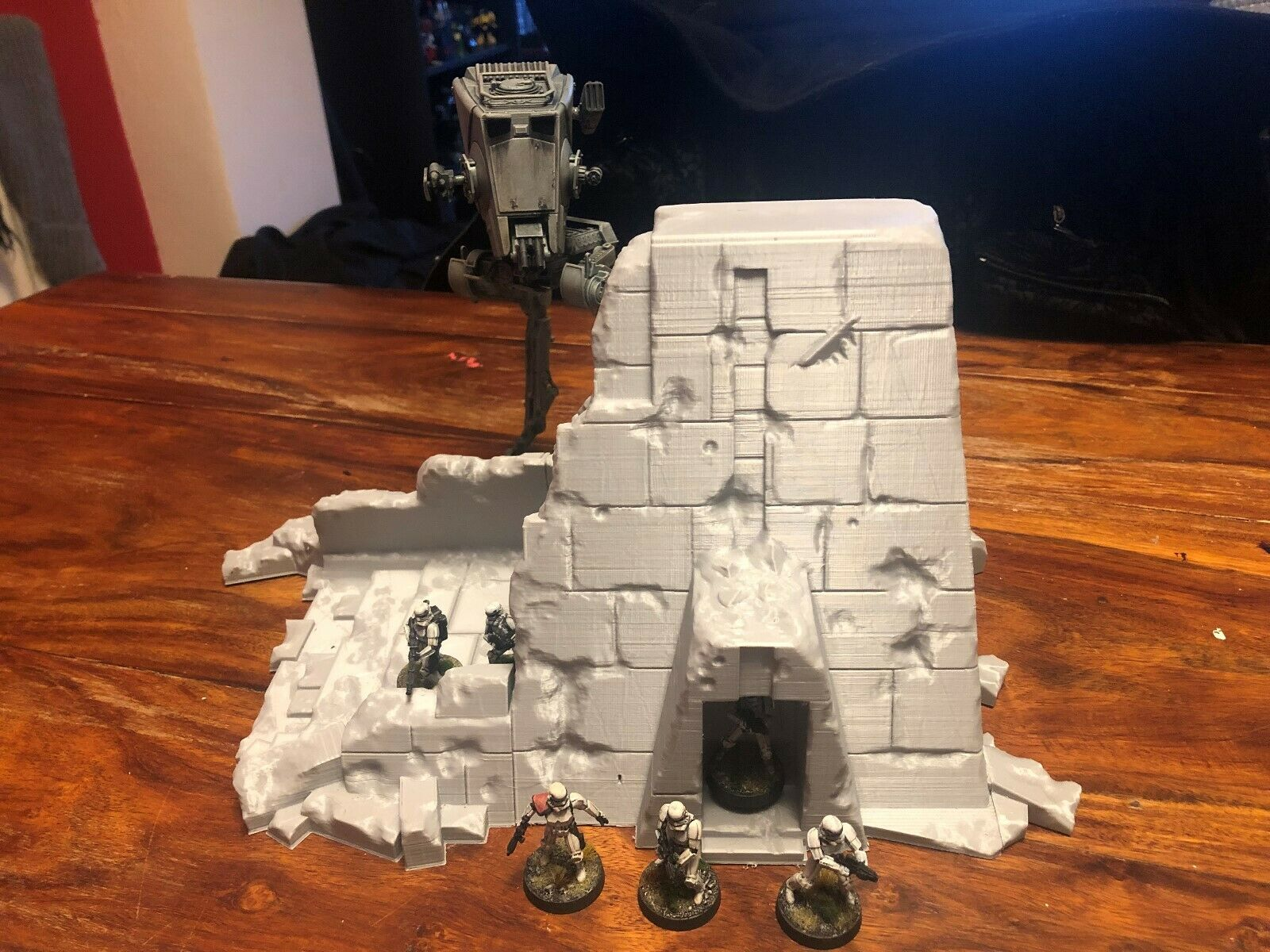 Star Wars Legion, Warhammer 40k, Age of Sigmar Terrain - Ruined Temple Store